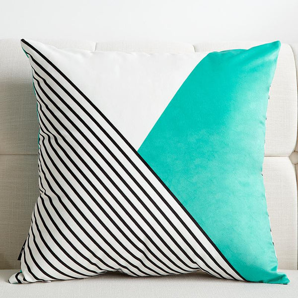 White and Blue - Pillow Case - Wallencia Home Decor