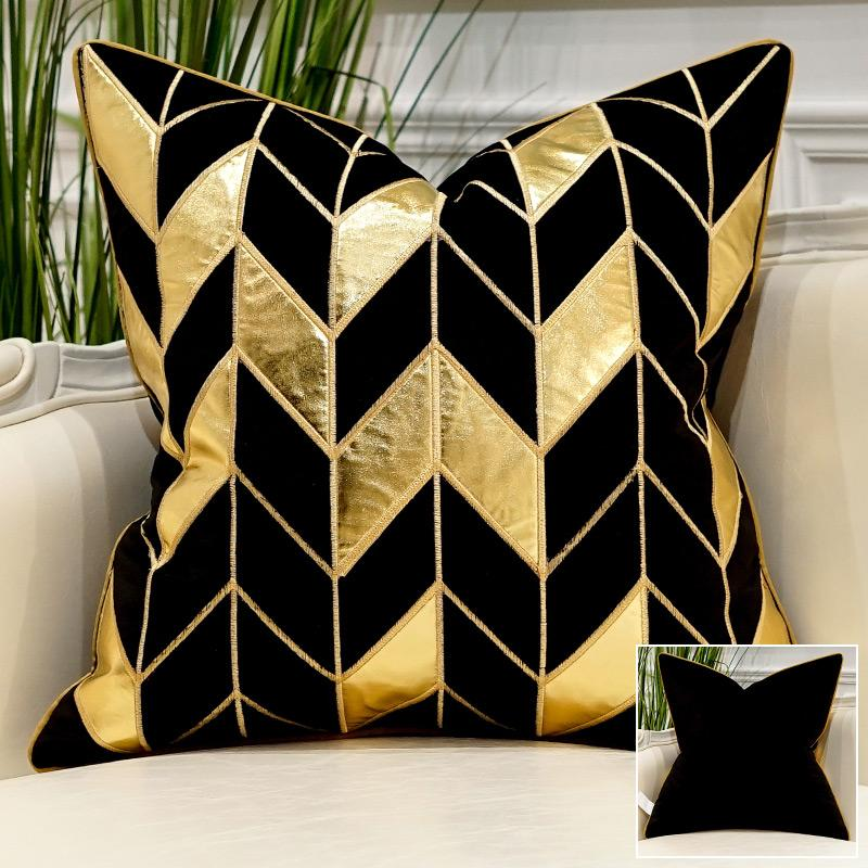 Midnight Black - Pillow Case - Wallencia Home Decor