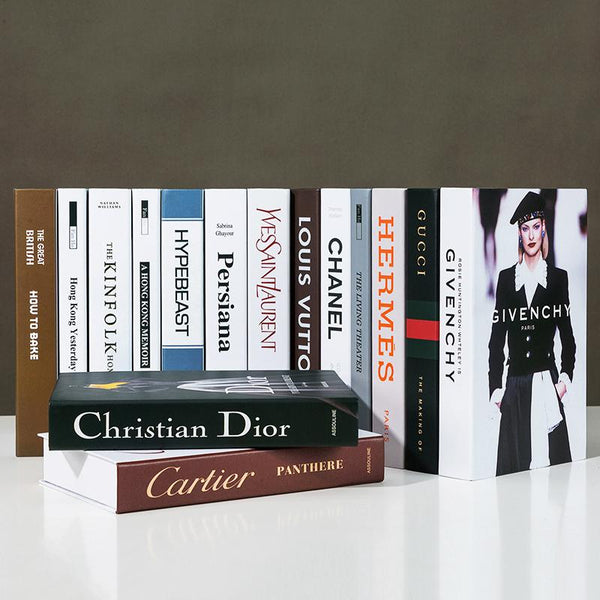 Decorative Books - Fashion Collection II - Wallencia Home Decor