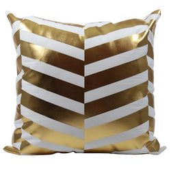 Golden Stripes - Pillow Case - Wallencia Home Decor