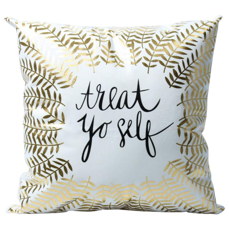 Treat Yo Self - Pillow Case - Wallencia Home Decor