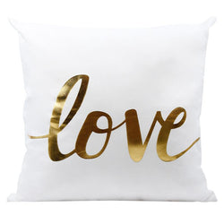 Golden Love - Pillow Case - Wallencia Home Decor
