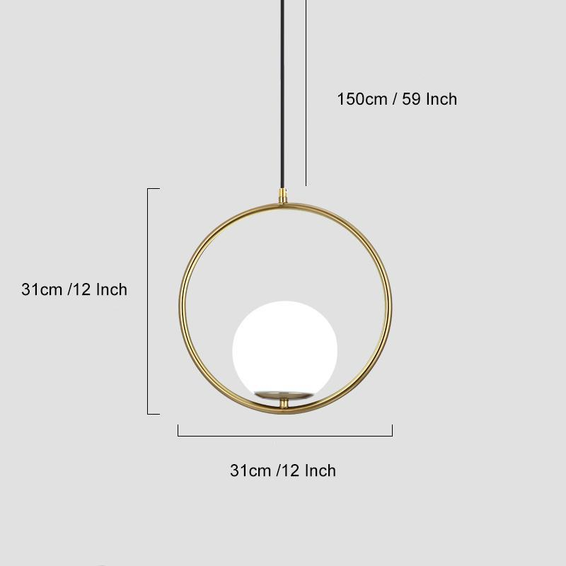 Luxury Modern Light Wallencia Circle Section
