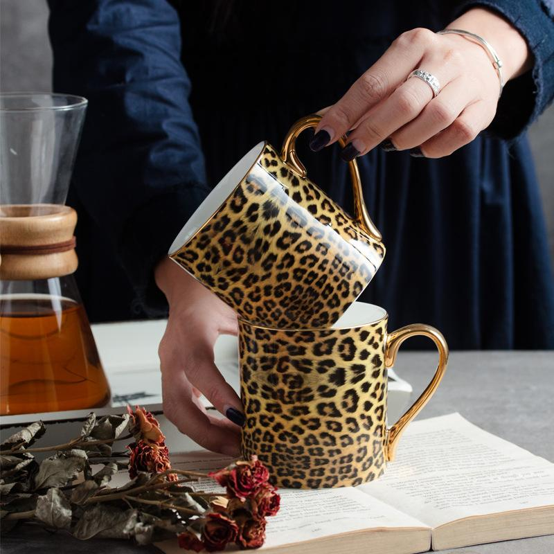 Leopard Coffee Mug - Wallencia Home Decor