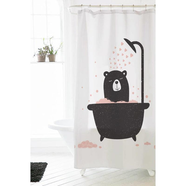 Bathing Bear - Sower Curtain - Wallencia Home Decor