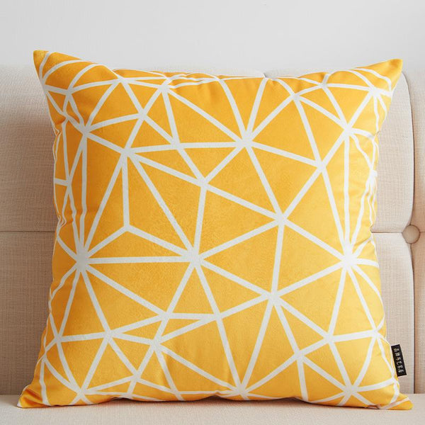 Yellow Star - Pillow Case - Wallencia Home Decor