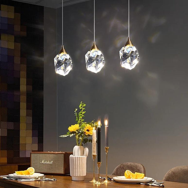Hilton - Crystal Lamp - Wallencia Home Decor
