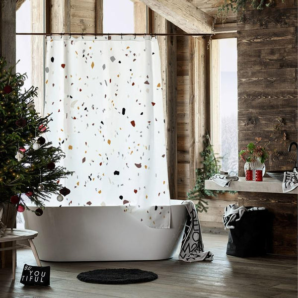 Terrazzo - Shower Curtain - Wallencia Home Decor