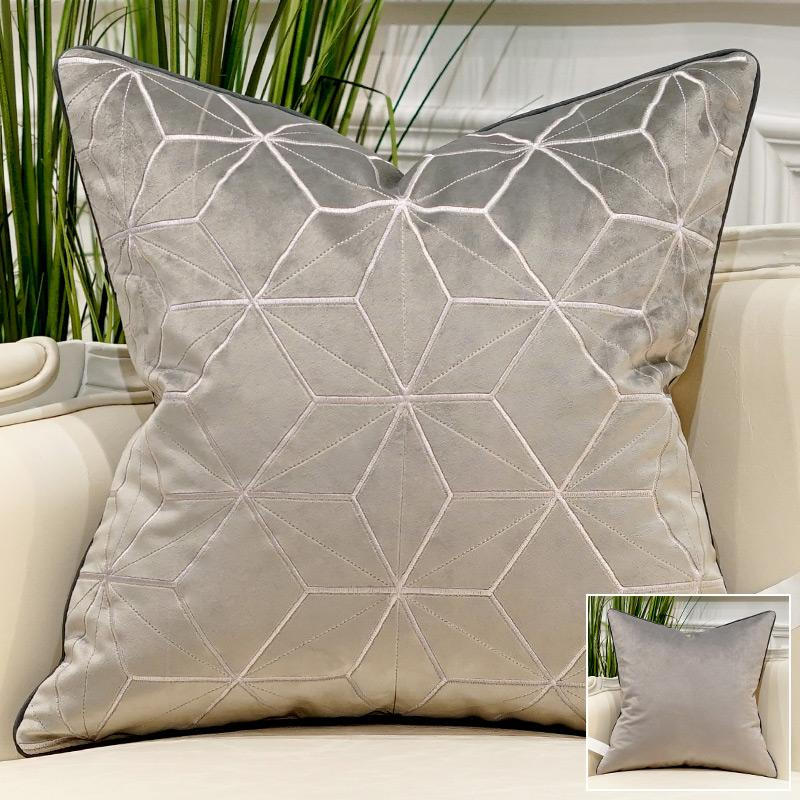 Space Silver & Gold - Pillow Case - Wallencia Home Decor
