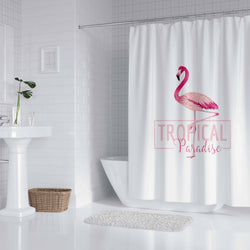 Tropical Paradise - Shower Curtain - Wallencia Home Decor