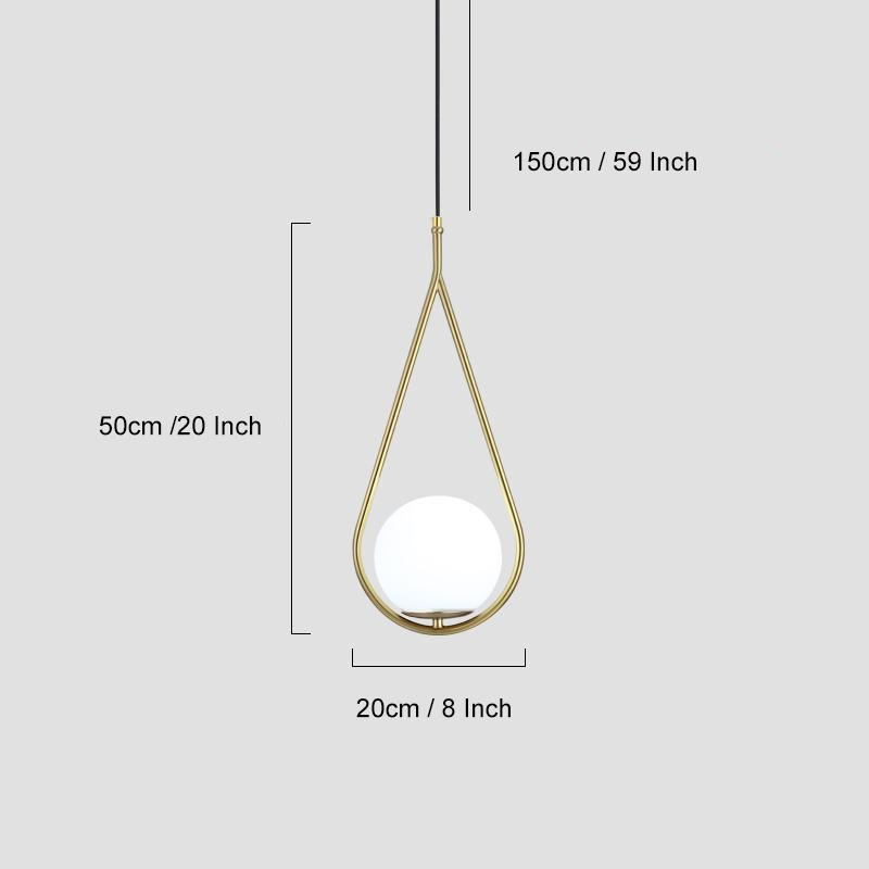 Luxury Modern Light Wallencia Water Drop