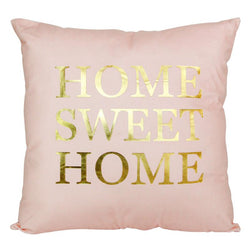 Pink Sweet Home - Pillow Case - Wallencia Home Decor