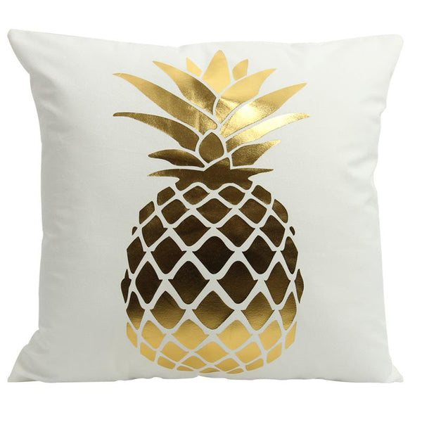 Golden Pineapple - Pillow Case - Wallencia Home Decor