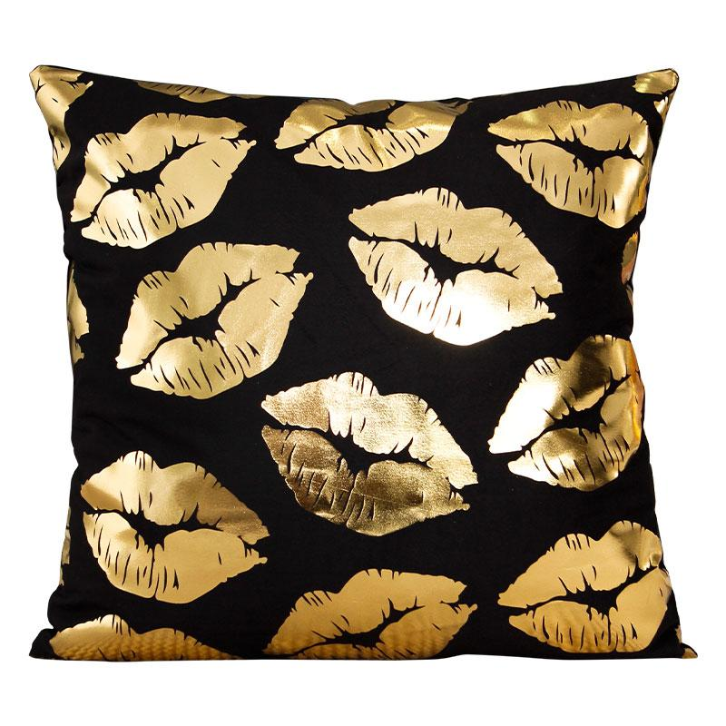 Golden Kiss - Pillow Case - Wallencia Home Decor