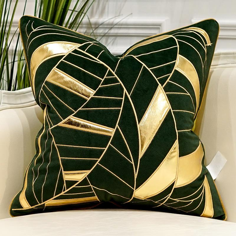 Smaragd Green - Pillow Cases - Wallencia Home Decor