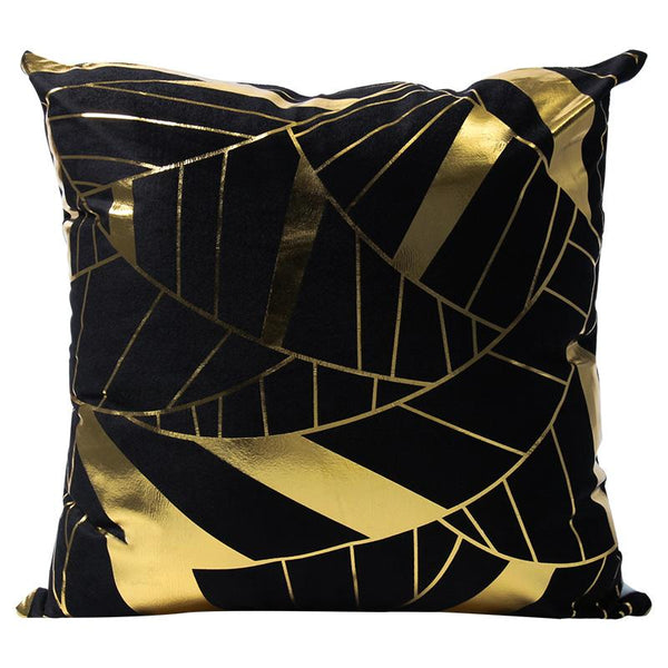Black & Gold - Pillow Case - Wallencia Home Decor