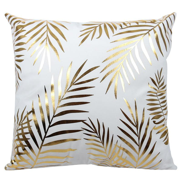 Bronzing Leaves - Pillow Case - Wallencia Home Decor