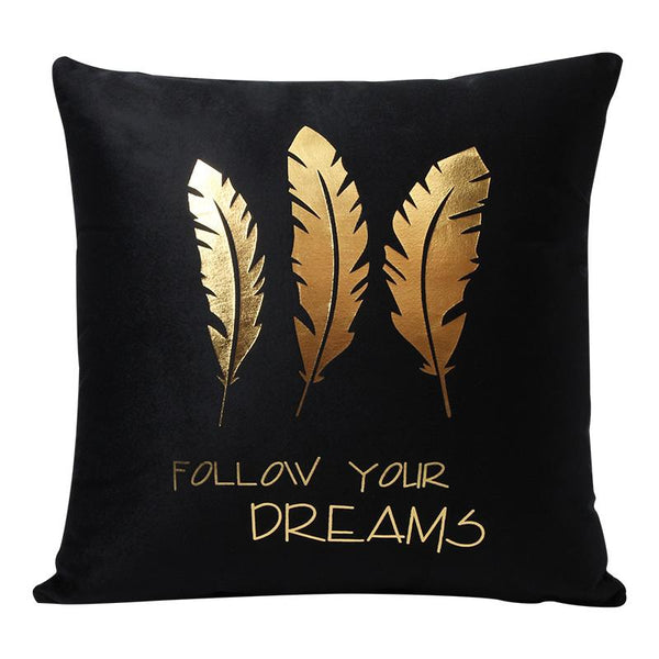 Follow Your Dreams - Pillow Case - Wallencia Home Decor