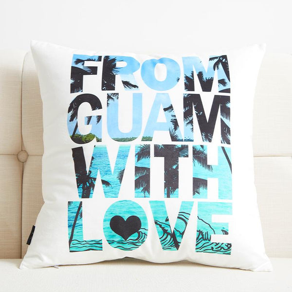 From Guam with Love - Pillow Case - Wallencia Home Decor