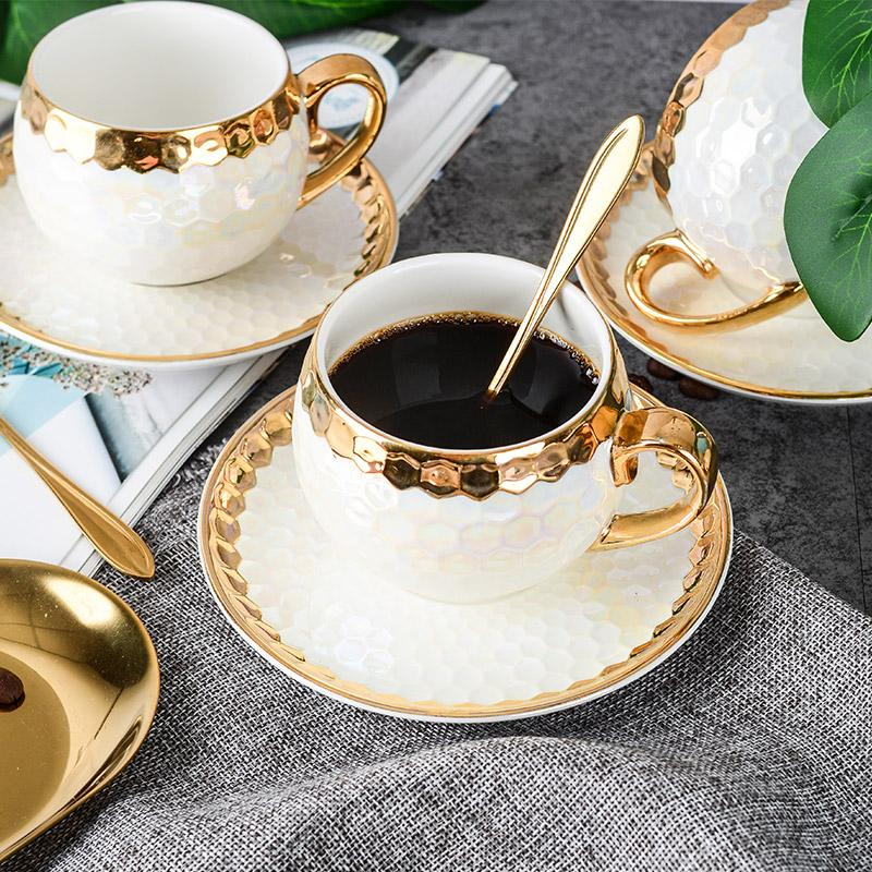 HONEYCOMB - TEA SET - Wallencia Home Decor