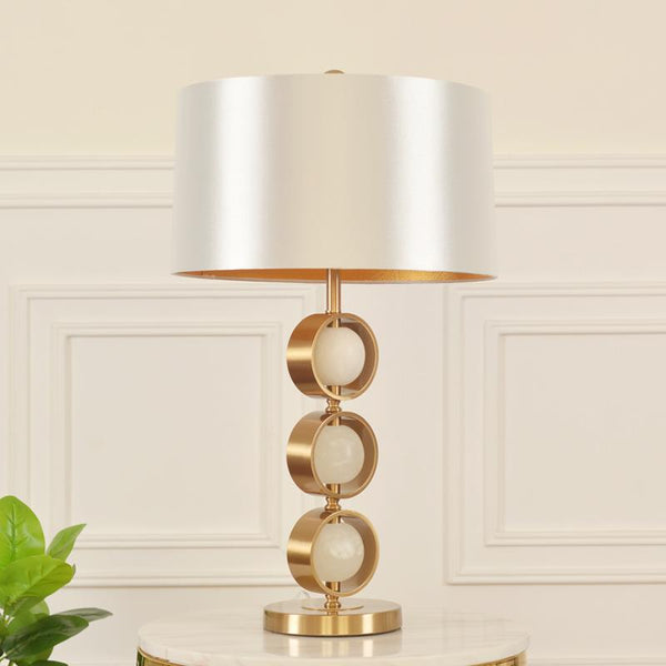 American Table Lamp White - Wallencia Home Decor