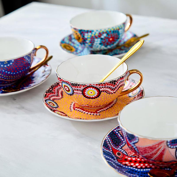 Bohemian Style Tea Set - Wallencia Home Decor