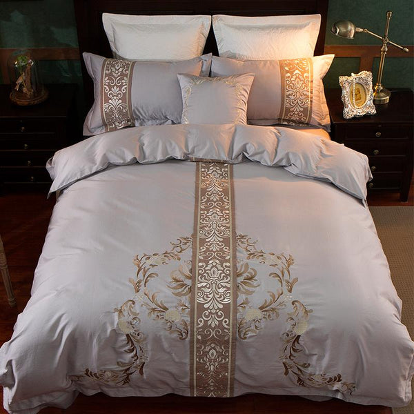 ATTIS - DUVET COVER SET (EGYPTIAN COTTON) - Wallencia Home Decor