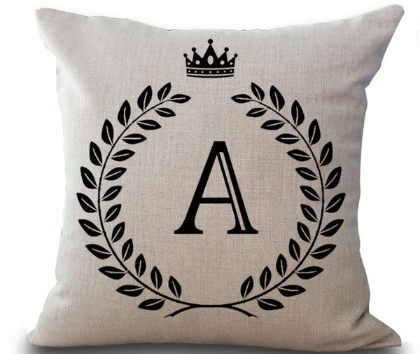 My Letter - Crone - Pillow Case - Wallencia Home Decor
