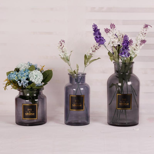Ins Vase - Grey - Wallencia Home Decor