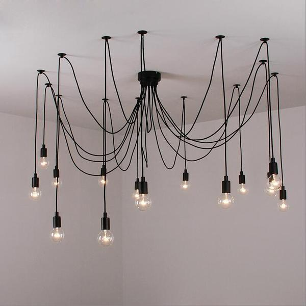 Tentacle Chandelier - Wallencia Home Decor