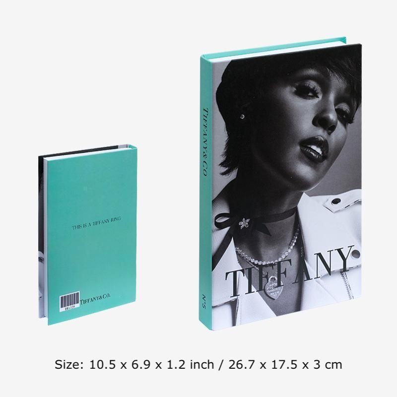 Decorative Books - Fashion Collection II Wallencia Tiffany