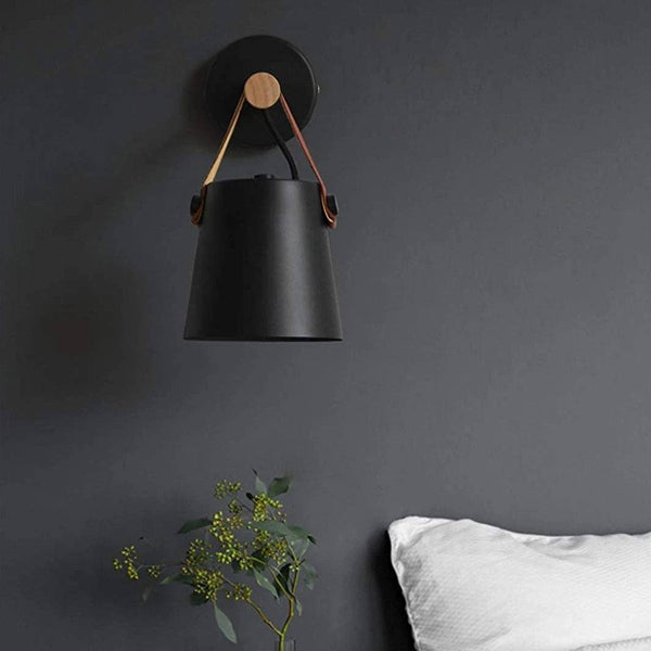 Ubud Wooden Hanging Wall Lamp - Wallencia Home Decor