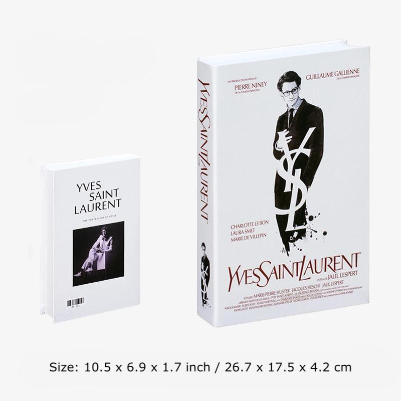 Decorative Books - Fashion Collection II Wallencia YSL