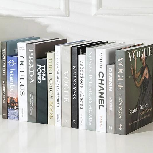 Decorative Books - Fashion Collection I - Wallencia Home Decor