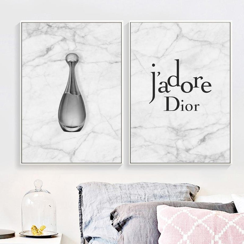 Dior j'adore Marble - Wallencia Home Decor