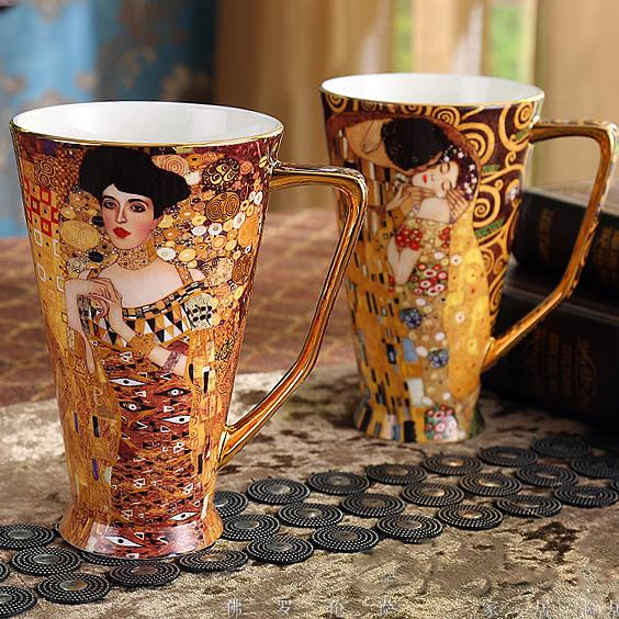 Klimt Art Cup Collection - Wallencia Home Decor