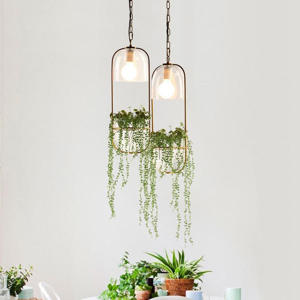 Orca - Plant Chandelier - Wallencia Home Decor