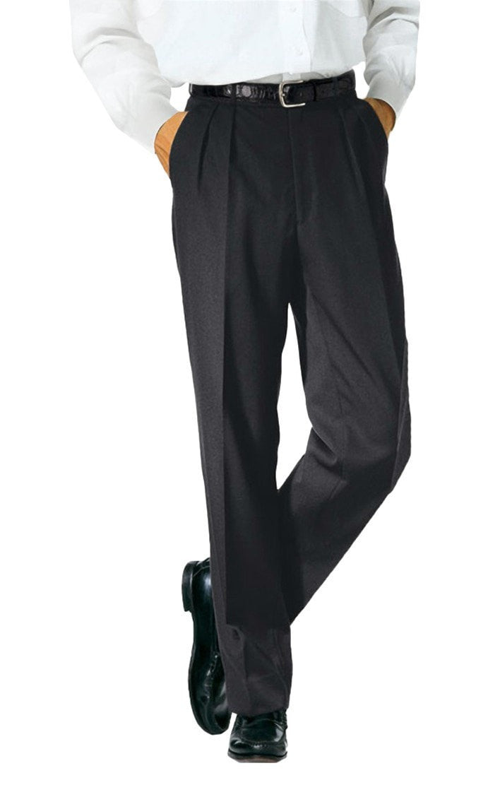 Forla Wide-leg Chef Pants by Bragard Black Front