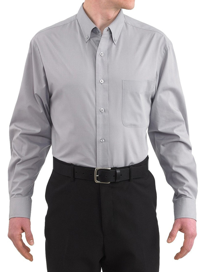 Three Star 1330 Oxford Shirt par Chefwear Silver Front