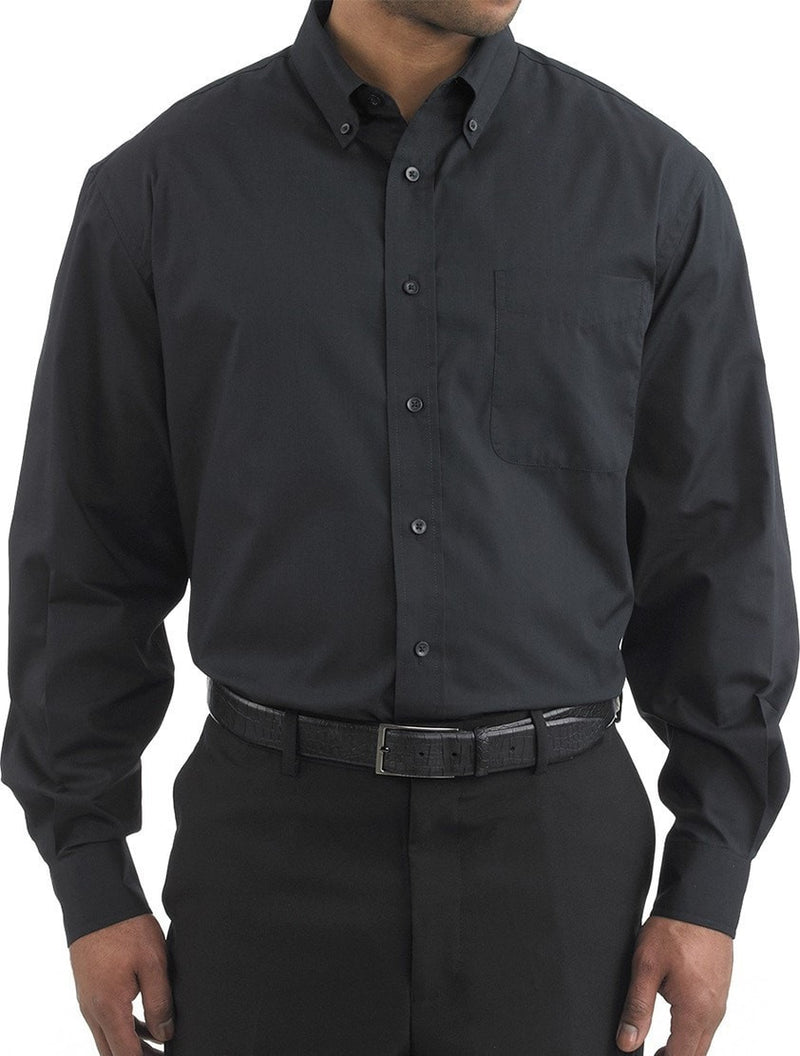 Three Star 1330 Oxford Shirt par Chefwear Noir sur le devant