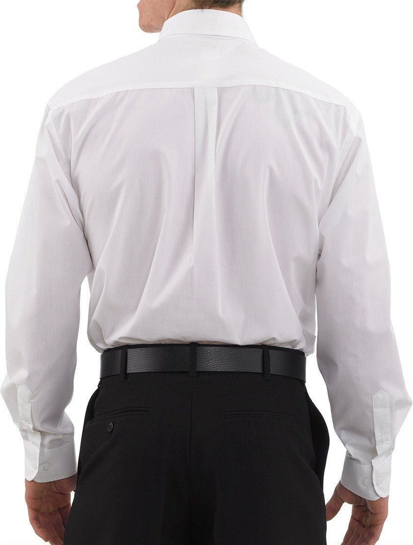 Three Star 1330 Oxford Shirt by Chefwear White Back
