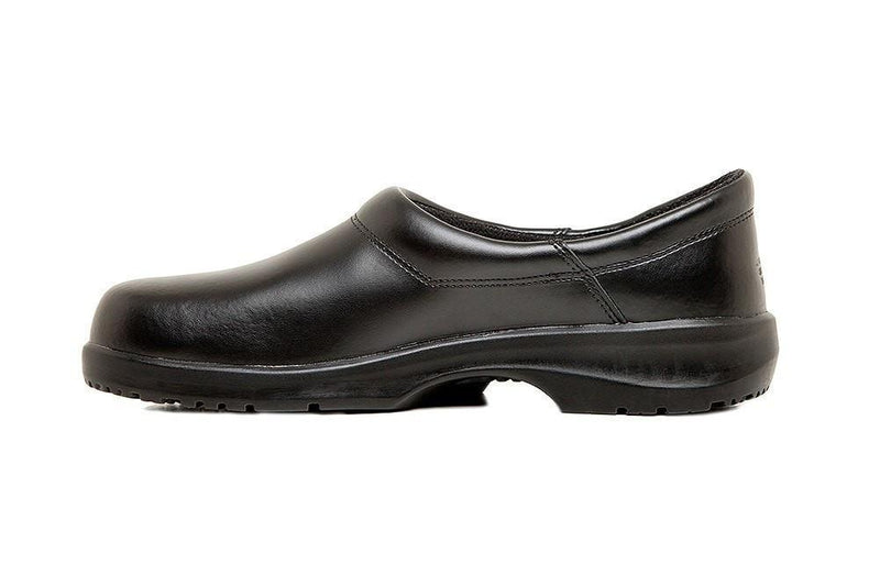 Fusion Chef Clog by Sika Footwear Black Side Left