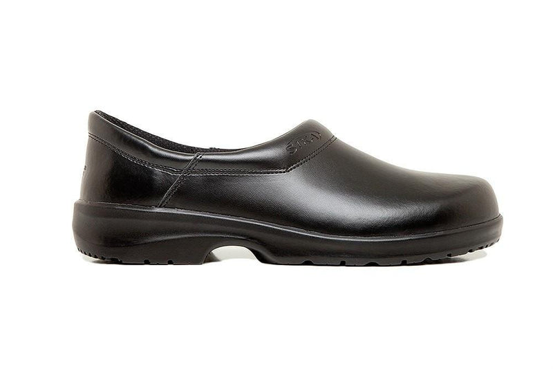 Fusion Chef Clog by Sika Footwear Black Side Right
