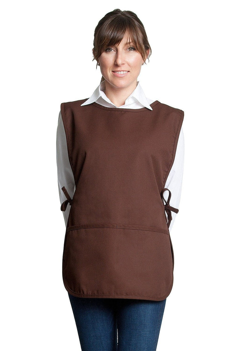 Fiumara Apparel Cobbler Apron w/ 2 Pockets Brown