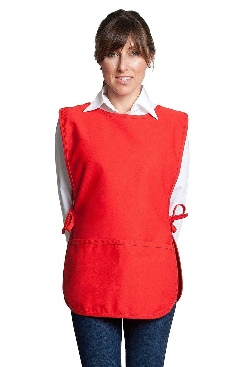 "Fiumara Apparel Bib Apron W/ No Pockets 28""L x 24""W"