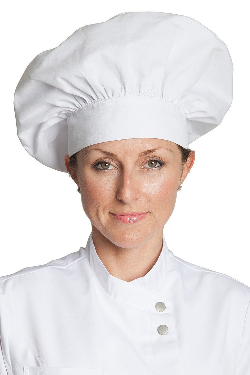 Poplin Chef Hats White Front