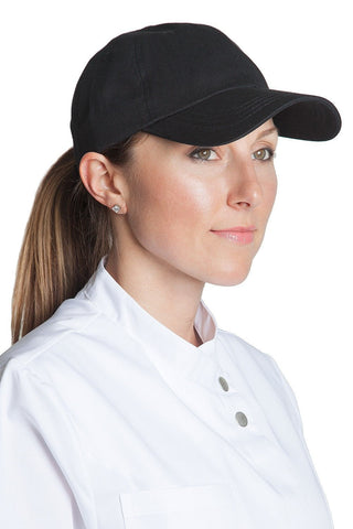 Fiumara Apparel Chef Baseball Caps Black