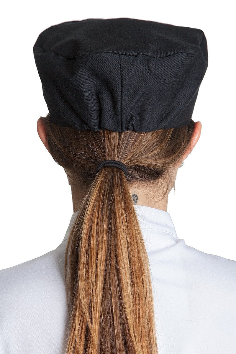 Professional Skull Cap Black Back