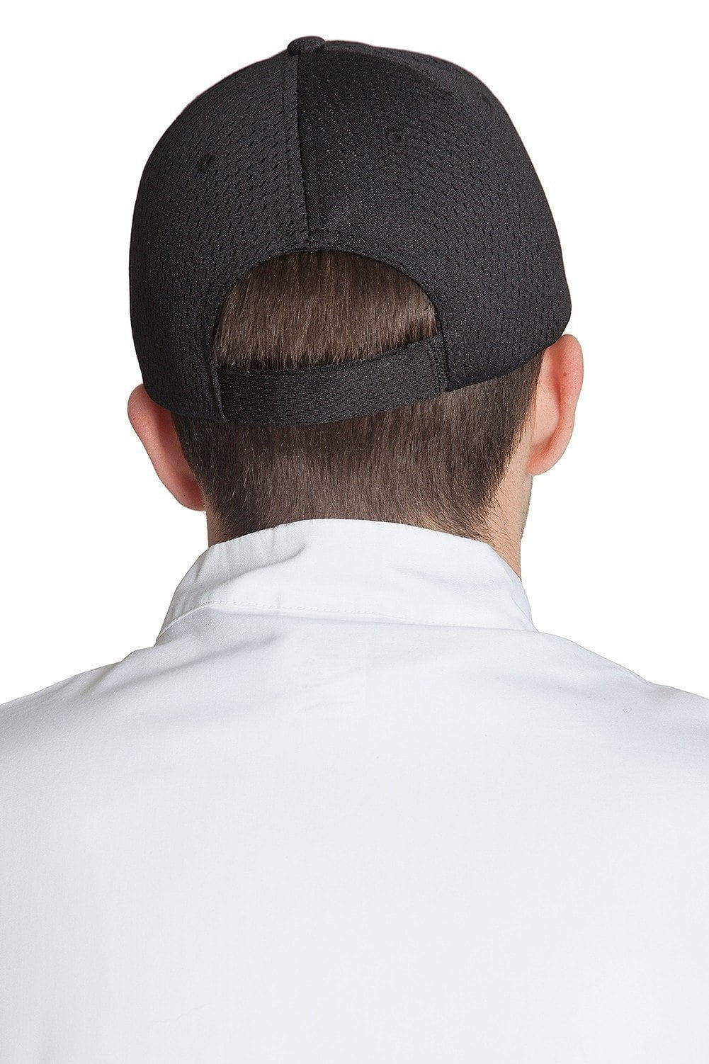 Pro Mesh Baseball Cap Black Back