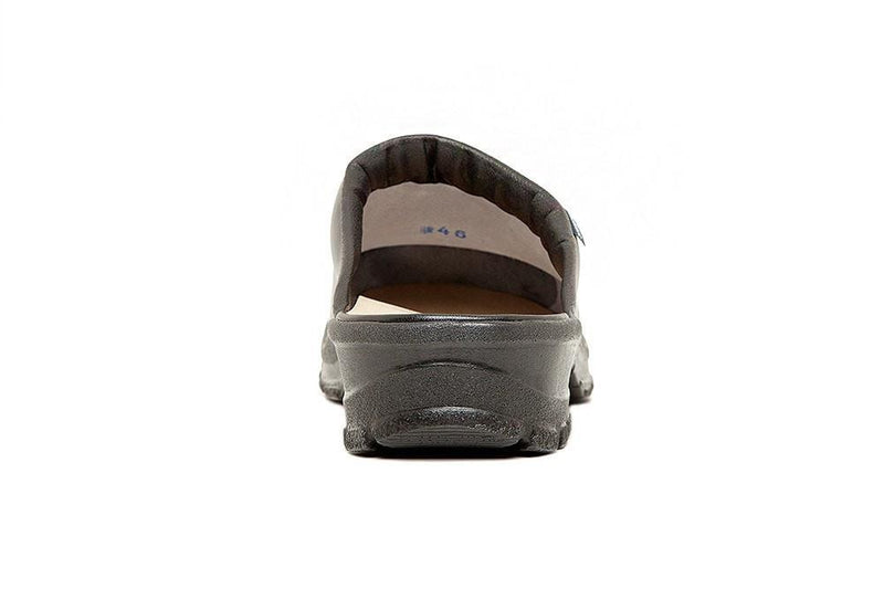 Birchwood Chef Clog w/Open Back by Sika Footwear Blac Back